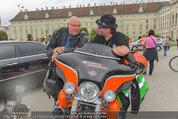 Harley Davidson Charity - Heldenplatz Wien - Mi 13.08.2014 - Wolfgang B�CK, Ferdinand FISCHER43
