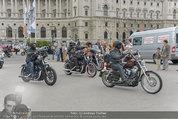 Harley Davidson Charity - Heldenplatz Wien - Mi 13.08.2014 - 6