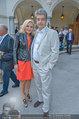 Katzenzungen Premiere - Stadttheater Berndorf - Do 14.08.2014 - Wolfgang HESOUN mit Ehefrau Brigitte30
