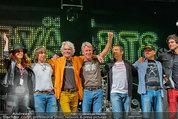 Wolfgang Ambros live - Albener Hafen - Sa 16.08.2014 - Musikband Lichtw�rts, Ulli B�ER (B�hnenfoto)1