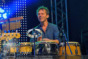 Wolfgang Ambros live - Albener Hafen - Sa 16.08.2014 - Musikband Lichtw�rts15