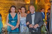 Netrebko - Verlobung - Di 19.08.2014 - Anna NETREBKO mit Schwester Natalia und Vater Juri62
