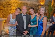 Netrebko - Verlobung - Di 19.08.2014 - Anna NETREBKO mit Schwester Natalia und Vater Juri76