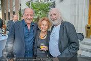 Drehabschlussfest - Novomatic Forum - Do 21.08.2014 - Karl MERKATZ mit Ehefrau Martha, Robert DORNHELM40
