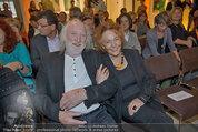 Drehabschlussfest - Novomatic Forum - Do 21.08.2014 - Karl MERKATZ mit Ehefrau Martha66
