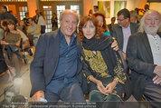 Drehabschlussfest - Novomatic Forum - Do 21.08.2014 - Robert DORNHELM mit Ehefrau Lynn67