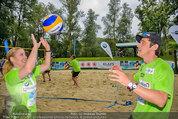 Promi Beachvolleyball - Parktherme Bad Radkersburg - So 24.08.2014 - Iva SCHELL, Werner SCHREYER101
