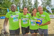 Promi Beachvolleyball - Parktherme Bad Radkersburg - So 24.08.2014 - Biko BOTOWAMUNGU, Gregor GLANZ, Vera RUSSWURM, Michael KONSEL132