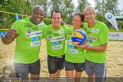 Promi Beachvolleyball - Parktherme Bad Radkersburg - So 24.08.2014 - Biko BOTOWAMUNGU, Gregor GLANZ, Vera RUSSWURM, Michael KONSEL133