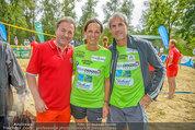 Promi Beachvolleyball - Parktherme Bad Radkersburg - So 24.08.2014 - Kurt FAIST, Vera RUSSWURM, Michael KONSEL136