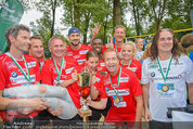Promi Beachvolleyball - Parktherme Bad Radkersburg - So 24.08.2014 - Teamfoto ua. Cathy ZIMMERMANN, Heribert KASPER172