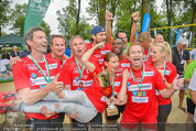 Promi Beachvolleyball - Parktherme Bad Radkersburg - So 24.08.2014 - Teamfoto ua. Cathy ZIMMERMANN, Heribert KASPER173