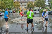 Promi Beachvolleyball - Parktherme Bad Radkersburg - So 24.08.2014 - Oliver STAMM, Cathy ZIMMERMANN, Biko BOTOW. spielen im Regen26