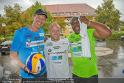 Promi Beachvolleyball - Parktherme Bad Radkersburg - So 24.08.2014 - Biko BOTOWAMUNGU, Oliver STAMM, Stefan KOUBEK35