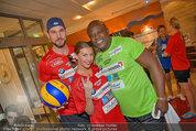 Promi Beachvolleyball - Parktherme Bad Radkersburg - So 24.08.2014 - Cathy ZIMMERMANN, Fabian PLATO, Biko BOTOWAMUNGU45