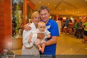 Promi Beachvolleyball - Parktherme Bad Radkersburg - So 24.08.2014 - Kurt ELSASSER mit Frau Brigitte und Tochter Jeniffer54