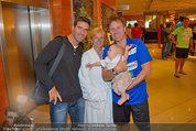 Promi Beachvolleyball - Parktherme Bad Radkersburg - So 24.08.2014 - Kurt ELSASSER mit Frau Brigitte und Jeniffer, Andreas TISCHLER56