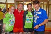 Promi Beachvolleyball - Parktherme Bad Radkersburg - So 24.08.2014 - Iva SCHELL, Kurt FAIST, Vera RUSSWURM, Andreas FULTERER6