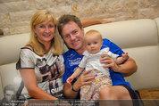 Promi Beachvolleyball - Parktherme Bad Radkersburg - So 24.08.2014 - Kurt ELSASSER mit Frau Brigitte und Tochter Jeniffer66