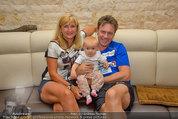 Promi Beachvolleyball - Parktherme Bad Radkersburg - So 24.08.2014 - Kurt ELSASSER mit Frau Brigitte und Tochter Jeniffer67