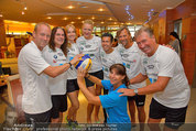 Promi Beachvolleyball - Parktherme Bad Radkersburg - So 24.08.2014 - Teamfoto (u.a. Stefan KOUBEK, Walter SKOCIK, C. KRISTOVIC-BINDER68