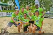 Promi Beachvolleyball - Parktherme Bad Radkersburg - So 24.08.2014 - Teamfoto ua. mit Michael KONSEL, Gregor GLANZ, Vera RUSSWURM,...84