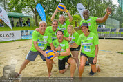 Promi Beachvolleyball - Parktherme Bad Radkersburg - So 24.08.2014 - Teamfoto ua. mit Michael KONSEL, Gregor GLANZ, Vera RUSSWURM,...85