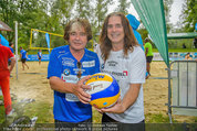 Promi Beachvolleyball - Parktherme Bad Radkersburg - So 24.08.2014 - Peter KENT, Andrew YOUNG90