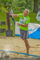 Promi Beachvolleyball - Parktherme Bad Radkersburg - So 24.08.2014 - Michael KONSEL beim Aufschlag94