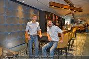 The Room Restaurantfotos - Sofiensäle - Fr 29.08.2014 - Lukas GR�NBICHLER, Joachim BANKEL (Gesch�ftsf�hrer)29