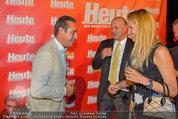 10 Jahre HEUTE - Rosengarten Belvedere - Do 04.09.2014 - Heinz-Christian HC STRACHE, Eva DICHAND122