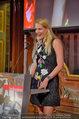 10 Jahre HEUTE - Rosengarten Belvedere - Do 04.09.2014 - Eva DICHAND bei ihrer Rede169