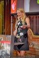 10 Jahre HEUTE - Rosengarten Belvedere - Do 04.09.2014 - Eva DICHAND bei ihrer Rede172