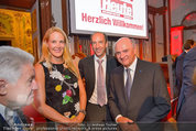 10 Jahre HEUTE - Rosengarten Belvedere - Do 04.09.2014 - Eva DICHAND, Christoph DICHAND, Erwin PR�LL177