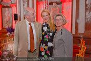 10 Jahre HEUTE - Rosengarten Belvedere - Do 04.09.2014 - Eva DICHAND mit ihren Eltern179