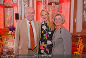 10 Jahre HEUTE - Rosengarten Belvedere - Do 04.09.2014 - Eva DICHAND mit ihren Eltern180