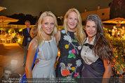 10 Jahre HEUTE - Rosengarten Belvedere - Do 04.09.2014 - Eva DICHAND, Fr. K�NIG185