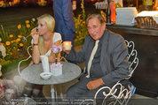 10 Jahre HEUTE - Rosengarten Belvedere - Do 04.09.2014 - Cathy SCHMITZ, Richard LUGNER191