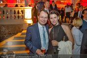 10 Jahre HEUTE - Rosengarten Belvedere - Do 04.09.2014 - Gerhard DREXEL mit Ehefrau205