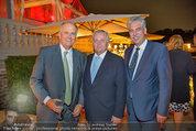 10 Jahre HEUTE - Rosengarten Belvedere - Do 04.09.2014 - Karl SEVELDA, Rudolf HUNDSTORFER, Hans J�rg SCHELLING214