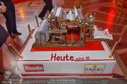 10 Jahre HEUTE - Rosengarten Belvedere - Do 04.09.2014 - Torte222