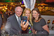 10 Jahre HEUTE - Rosengarten Belvedere - Do 04.09.2014 - Erwin PR�LL, Eva DICHAND, Susanne RIESS-PASSER243
