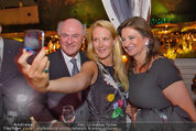 10 Jahre HEUTE - Rosengarten Belvedere - Do 04.09.2014 - Erwin PR�LL, Eva DICHAND, Susanne RIESS-PASSER244