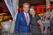 10 Jahre HEUTE - Rosengarten Belvedere - Do 04.09.2014 - Alfons HAIDER, Susanne RIESS-PASSER261