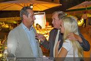 10 Jahre HEUTE - Rosengarten Belvedere - Do 04.09.2014 - Heinz-Christian HC STRACHE, Richard LUGNER, Cathy SCHMITZ266