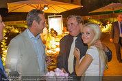 10 Jahre HEUTE - Rosengarten Belvedere - Do 04.09.2014 - Heinz-Christian HC STRACHE, Richard LUGNER, Cathy SCHMITZ267