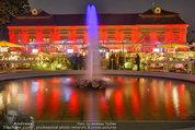 10 Jahre HEUTE - Rosengarten Belvedere - Do 04.09.2014 - Springbrunnen im Rosengarten268