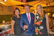 10 Jahre HEUTE - Rosengarten Belvedere - Do 04.09.2014 - Alfons HAIDER, Eva DICHAND, Susanne RIESS-PASSER270