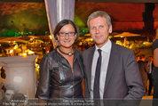 10 Jahre HEUTE - Rosengarten Belvedere - Do 04.09.2014 - Johanna MIKL-LEITNER, Josef OSTERMAYER272