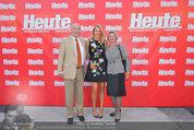 10 Jahre HEUTE - Rosengarten Belvedere - Do 04.09.2014 - Eva DICHAND mit ihren Eltern8